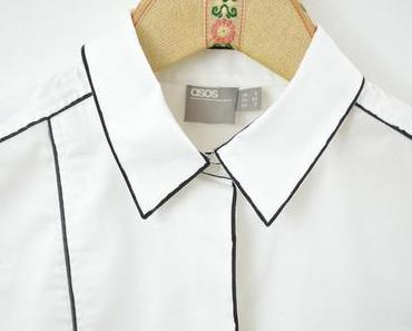 Brave weiße Bluse mal anders #1