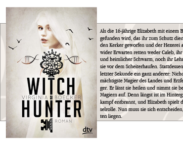 [Bloggeraktion] Witch Hunter von Virginia Becker
