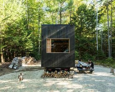 Sollen so in Zukunft Wochenendhäuser aussehen?