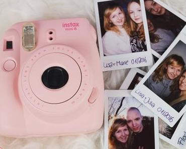 [REVIEW] Fujifilm 16273166 Instax Mini 8 Sofortbildkamera in PINK