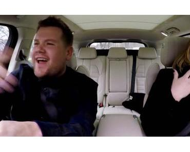 "Carpool Karaoke with Adele!  // Adele rappt auf Nicki Minaj's ""Monster"" // Video"