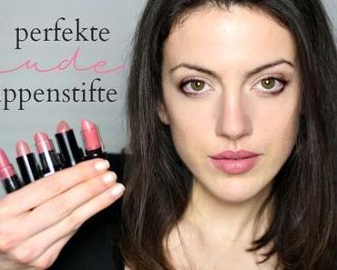 Fünf perfekte nude Lippenstifte