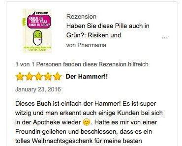 Pharmama wird gelesen