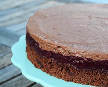 Schokomousse-Kirsch-Torte