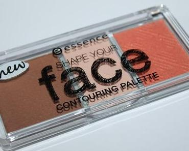 Swatches und erster Eindruck: Essence shape your face Contouring Palette in 10 ready, set, peach!