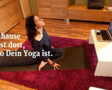 #Yogaeverydamnday im Februar mit YogaMeHome