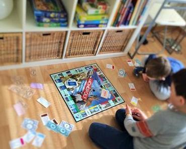 Kinderspielklassiker Monopoly: Spekulieren und investieren im Kinderzimmer