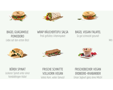 vegane Produkte bei BackWerk