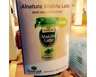 Alnatura Matcha Latte [Produktneuheit] – good to go