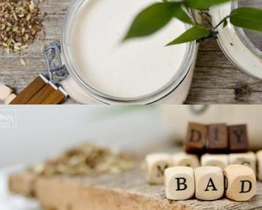 DIY Babybad Milch&Joghurt