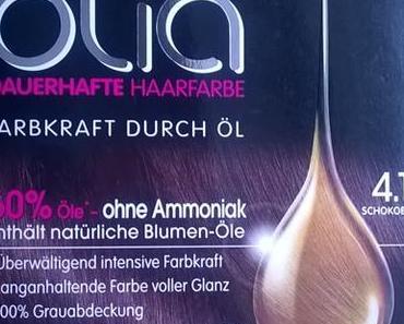 Garnier Olia Dauerhafte Haarfarbe 4.15 Schokobraun + Gewinn :)