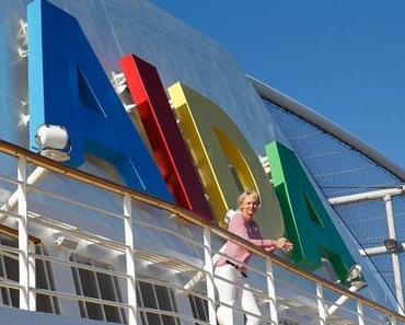 Olympialaune an Bord von AIDA