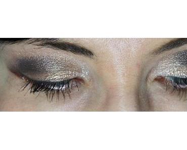 Golden Eye - mein Augenmake-up mit Sleek i-Lust Palette
