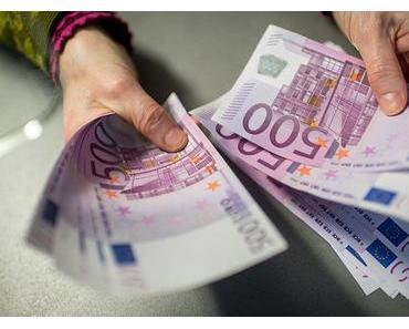 Mit großen Schritten in die Unfreiheit: ZB prüft Aus für 500-Euro-Scheine