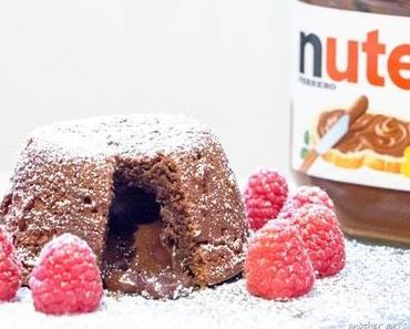 #Weltnutellatag Lava-Cake mit Nutella