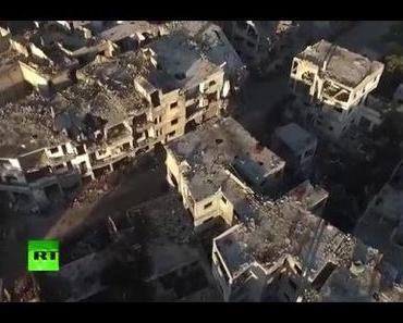 Kriegs Impressionen: Verwüstung in Homs