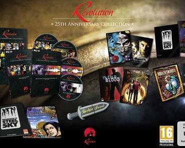 Revolution 25th Anniversary Collection - Alle Adventures mit vielen Sammlerstücken