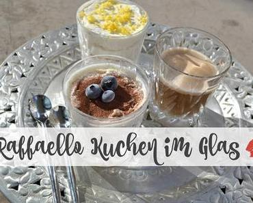{Valentinstag} Raffaello Kuchen im Glas