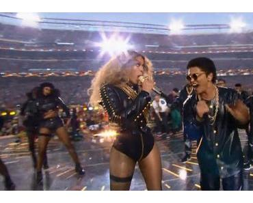 Super Bowl 50 Halftime Show with Beyoncé, Bruno Mars und Coldplay (Video)