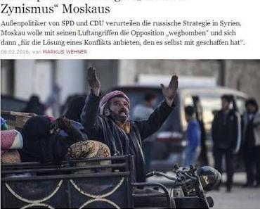 NATO reagiert hysterisch auf die Erfolge Russlands und Syriens im Kampf gegen den Terror