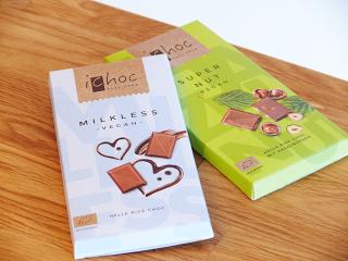 Produkttestung: iChoc Schokolade Super Nut & Milkless