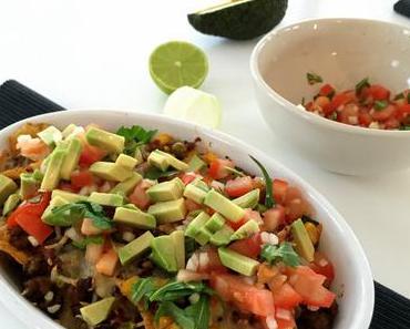 dinner-dienstag {loaded nachos mit schneller salsa}