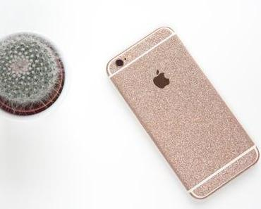 MrStraps - Glitzerfolie Iphone 6s