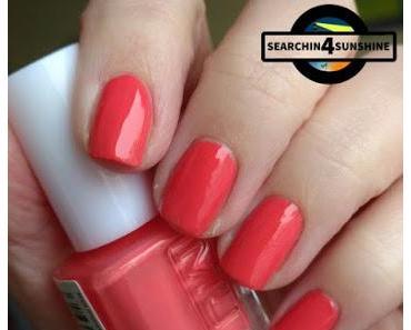 [Nails] Lacke in Farbe ... und bunt! APRICOT mit MUA Sweet Peach