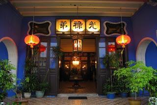 Georgetown, auf der Insel Penang