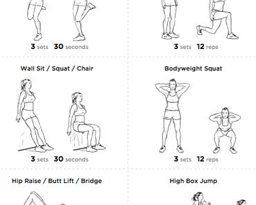 Beintraining – Effektive Übungen