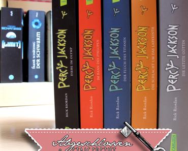 "Abgeschlossen & eingereiht | Rick Riordan: ""Percy Jackson"""