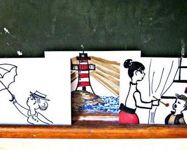 creadienstag - Mary Poppins Postkarten