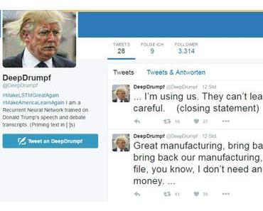 Der Trump-Bot auf Twitter