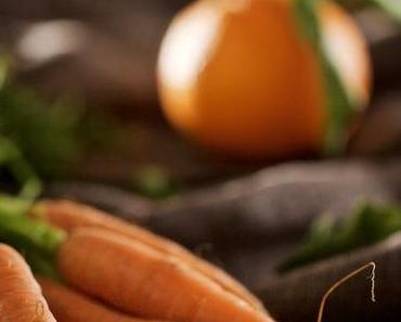 Orangen-Möhren-Suppe mit Linsen