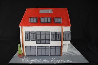 Traum-Haus Torte zum Geburtstag