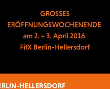 FitX – Ein weiterer Fitnessdiscounter – Neueröffnung in Hellersdorf
