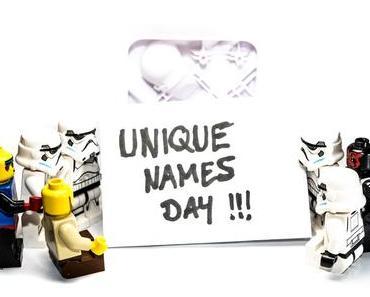 Tag der ausgefallenen Namen – der amerikanische Unique Names Day