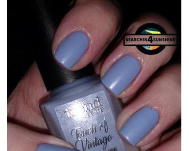 [Nails] Lacke in Farbe ... und bunt! TAUBENBLAU mit trend IT UP Touch of Vintage 040