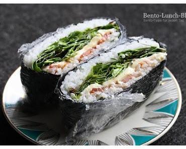 Rezept: Onigirazu - Japanisches Reissandwich