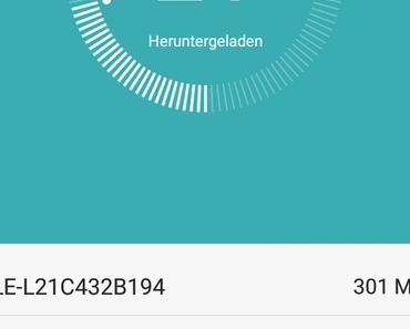 Update ALE L21 C432 B194 für Huawei P8 lite wird ausgerollt