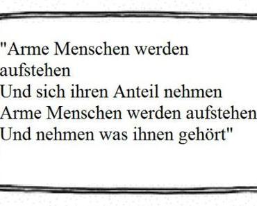 Hartz IV: Ursache und Wirkung!