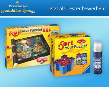 News - Ravensburger - Testaktion - Puzzle-Zubehör