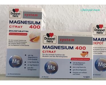 Boom, Boom – Doppelherz Magnesium Citrat System für Läufer, Stressgeplagte