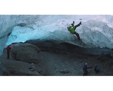 Kletterabenteuer in den Eisbergen von Island