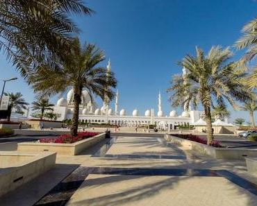 Abu Dhabi Highlight – Scheich Zayed Moschee