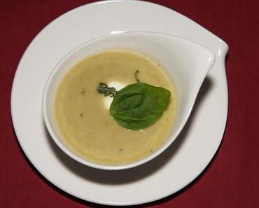 Riesling-Kartoffelschaumsuppe (lacto-vegetarisch)