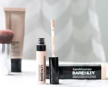 bareSkin Complete Coverage Serum Concealer Review + Swatch