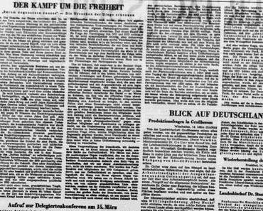 """Wie der """"Tagesspiegel"""" vor 70 Jahren im ersten Berliner Zeitungskrieg die Unabhängigkeit der SPD rettete"""
