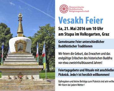 Vesakh-Feier in Graz