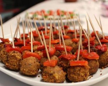 Veganes Silvester Buffet #Tappas #Fingerfood